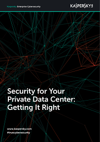 Security For Your Private Data Center