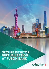SECURE VIRTUALIZATION AT FUBON BANK